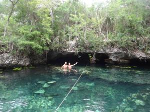 Cenote in Tulum