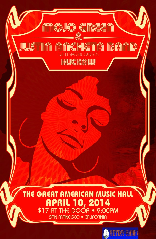 Soul Graffiti Presents: MojoGreen, Justin Ancheta Band, Kuckaw!